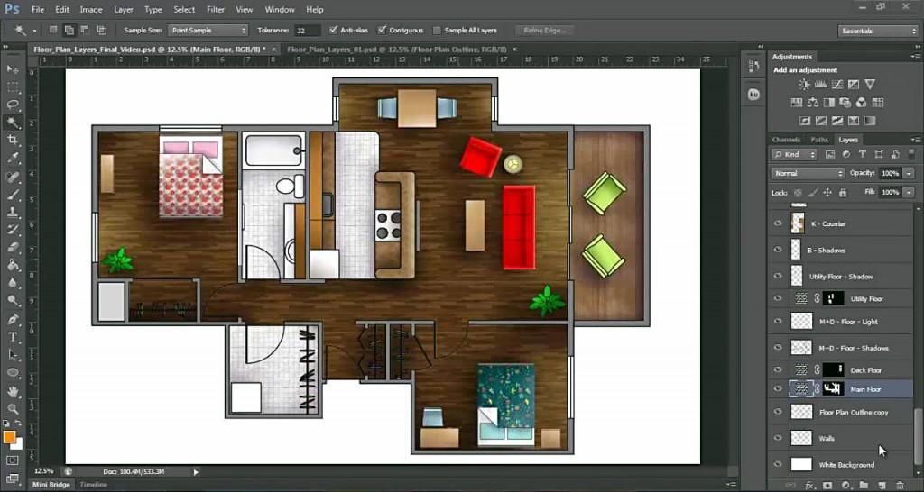 nên tải phần mềm photoshop nào - lĩnh vực photoshop kiến trúc