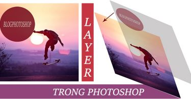 layer trong photoshop
