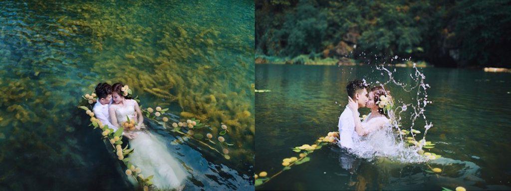 chụp ảnh cưới và kiếm tiền bằng photoshop