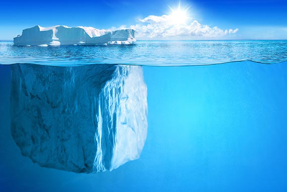 hình ảnh đẹp tảng băng trôi iceberg