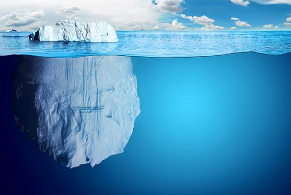 hình ảnh đẹp về tảng băng trôi