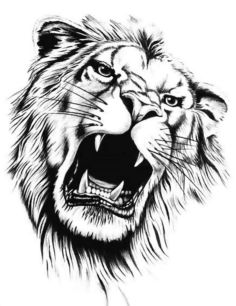 hình xăm tiger