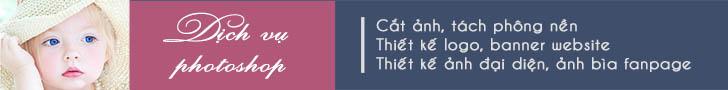 dịch vụ photoshop, thiết kế banner, logo, ảnh bìa facebook