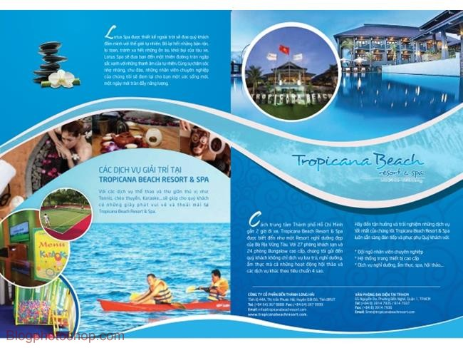 Brochure-resort