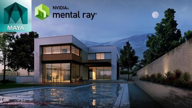 Mental Ray phan mem